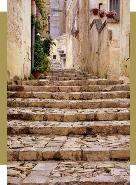 mooie steeg italiaans dorp