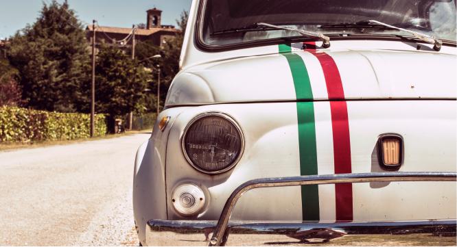 italiaans fiat vintage