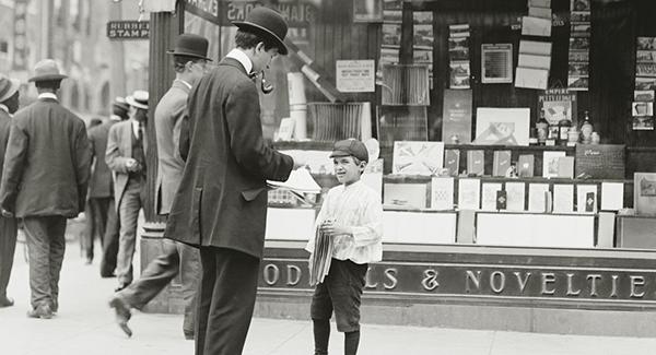nieuws Italiaans leren Haarlem paperboy